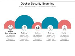 Docker Security Scanning Ppt Powerpoint Presentation Professional Files Cpb