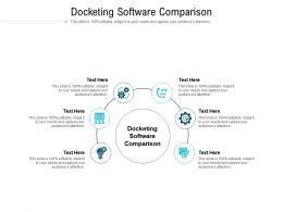 Docketing Software Comparison Ppt Powerpoint Presentation Infographic Template Graphics Cpb