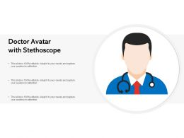 Doctor Avatar With Stethoscope