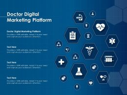 Doctor Digital Marketing Platform Ppt Powerpoint Presentation Ideas Introduction