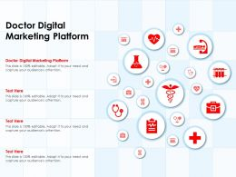 Doctor Digital Marketing Platform Ppt Powerpoint Presentation Portfolio Inspiration