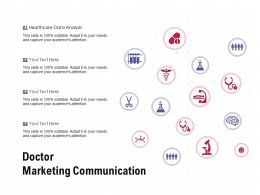 Doctor Marketing Communication Ppt Powerpoint Presentation Slides Show