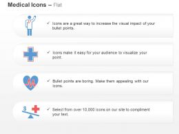 Doctor Medical Symbol Heart Health Ecg Ppt Icons Graphics
