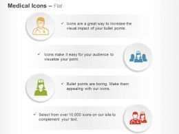 Doctor Nurse Midwife Medical Support Staff Ppt Icons Graphics