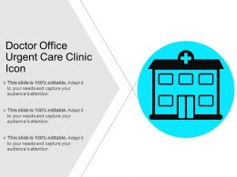 Doctor Office Urgent Care Clinic Icon
