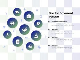 Doctor Payment System Ppt Powerpoint Presentation Inspiration Template