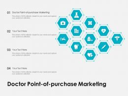 Doctor Point Of Purchase Marketing Ppt Powerpoint Presentation Portfolio Icons
