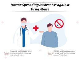 Doctor Spreading Awareness Against Drug Abuse