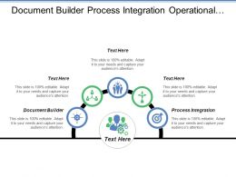 Document Builder Process Integration Operational Procurement Public Tendering