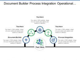 Document Builder Process Integration Operational Procurement Public Tendering