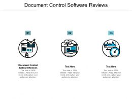 Document Control Software Reviews Ppt Powerpoint Presentation Portfolio Background Image Cpb