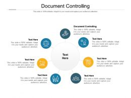 Document Controlling Ppt Powerpoint Presentation Outline Shapes Cpb