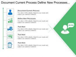 Document Current Process Define New Processes Define Macro Process