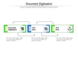 Document Digitization Ppt Powerpoint Presentation Show Template Cpb
