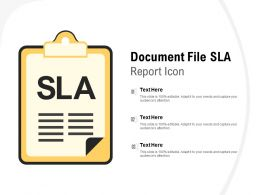 Document File SLA Report Icon