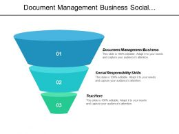 Document Management Business Social Responsibility Skills Online Strategy Cpb