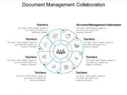 Document Management Collaboration Ppt Powerpoint Presentation Styles Icon Cpb