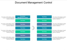 Document Management Control Ppt Powerpoint Presentation Pictures Layout Ideas Cpb