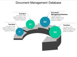 Document Management Database Ppt Powerpoint Presentation Inspiration Cpb