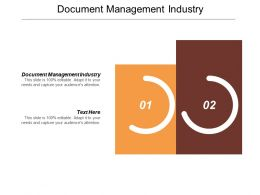 Document Management Industry Ppt Powerpoint Presentation Portfolio Example File Cpb