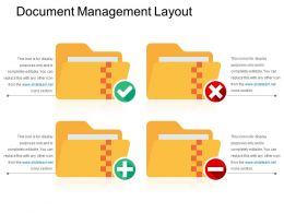 Document Management Layout Ppt Slide