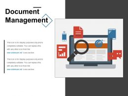 Document Management Ppt Templates