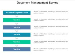 Document Management Service Ppt Powerpoint Presentation Show Clipart Cpb