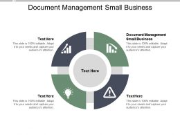 Document Management Small Business Ppt Powerpoint Presentation Introduction Cpb