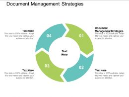 Document Management Strategies Ppt Powerpoint Presentation Example File Cpb