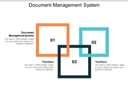 Document Management System Ppt Powerpoint Presentation File Layouts Cpb