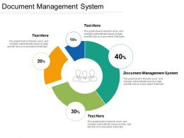 Document Management System Ppt Powerpoint Presentation Gallery Clipart Images Cpb
