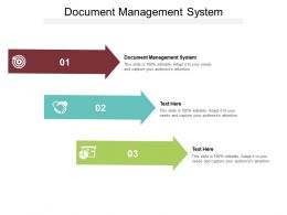 Document Management System Ppt Powerpoint Presentation Show Background Cpb