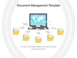 Document Management Template Sample Ppt Files