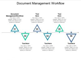Document Management Workflow Ppt Powerpoint Presentation Infographics Designs Cpb