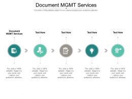 Document MGMT Services Ppt Powerpoint Presentation Portfolio Graphics Pictures Cpb