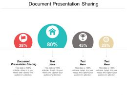 Document Presentation Sharing Ppt Powerpoint Presentation Model Infographics Cpb