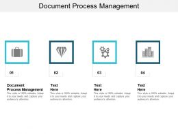 Document Process Management Ppt Powerpoint Presentation Infographics Rules Cpb