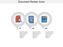 Document Review Icons