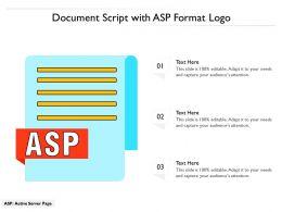 Document Script With Asp Format Logo