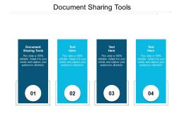 Document Sharing Tools Ppt Powerpoint Presentation Infographic Template Slide Portrait Cpb