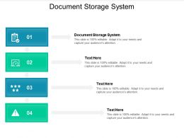 Document Storage System Ppt Powerpoint Presentation Layouts Files Cpb