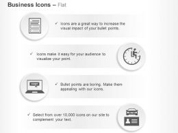 Document Time Management Submit Travel Agencies Ppt Icons Graphics