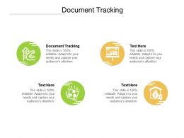 Document Tracking Ppt Powerpoint Presentation Slides Graphics Design Cpb