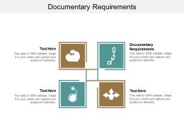 Documentary Requirements Ppt Powerpoint Presentation Gallery Summary Cpb