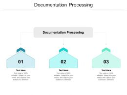 Documentation Processing Ppt Powerpoint Presentation Outline Slide Cpb