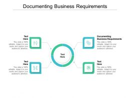 Documenting Business Requirements Ppt Powerpoint Presentation Styles Brochure Cpb