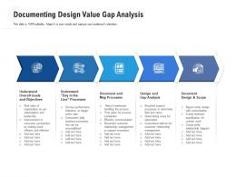 Documenting Design Value Gap Analysis