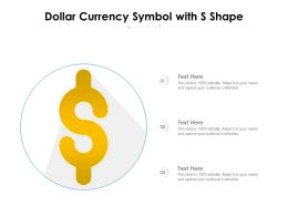 Dollar Currency Symbol With S Shape