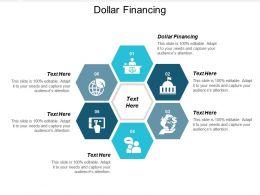 Dollar Financing Ppt Powerpoint Presentation Gallery Smartart Cpb