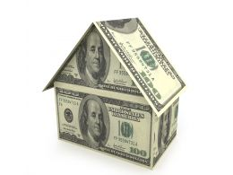 Dollar House Graphic Stock Photo